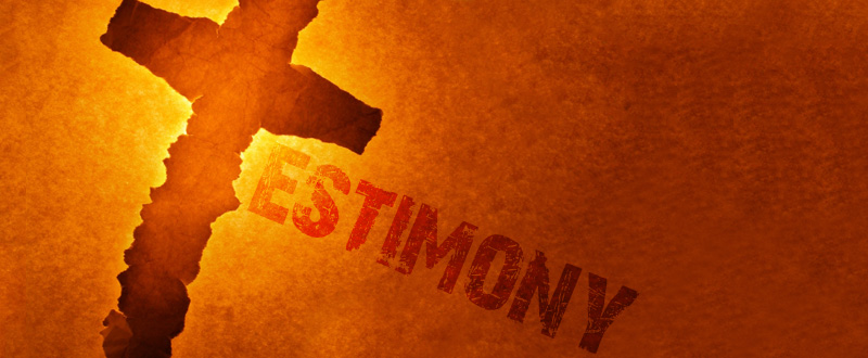 how to make a personal testimony in church