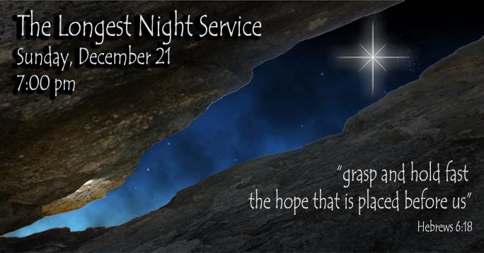 Longest Night Service December 21 2014 First