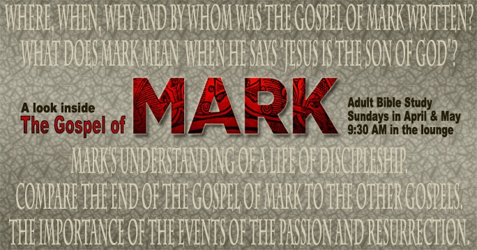 Mark Chapter 1 Explained - bible-studys.org