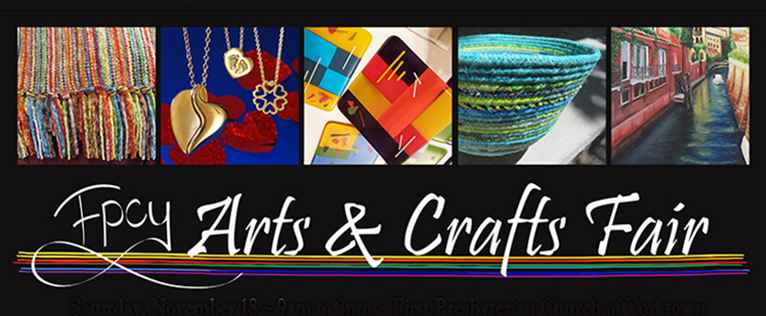 Fpcy arts and crafts fair first presbyterian church of for Arts and crafts fairs