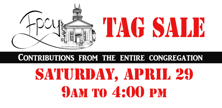 Tag Sale 2017 FOR BUYERS Graphic